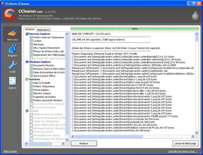 Nettoyer et Optimiser votre ordinateur avec CCleaner