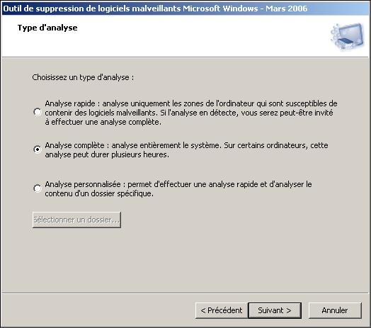 Mrt anti malware programme de suppression de logiciels for Logiciel anti fenetre publicitaire