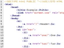 Quel est le langage informatique le plus courant utilisé pour écrire les pages web ?
