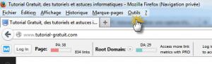 Faire une capture d'écran d'une page web avec Firefox