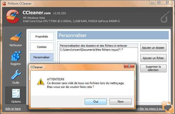 CCleaner permet de faire fonctionner Windows plus rapidement
