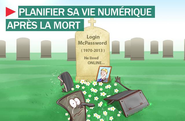 Comment pensez vous gérer votre vie numérique après la mort ?