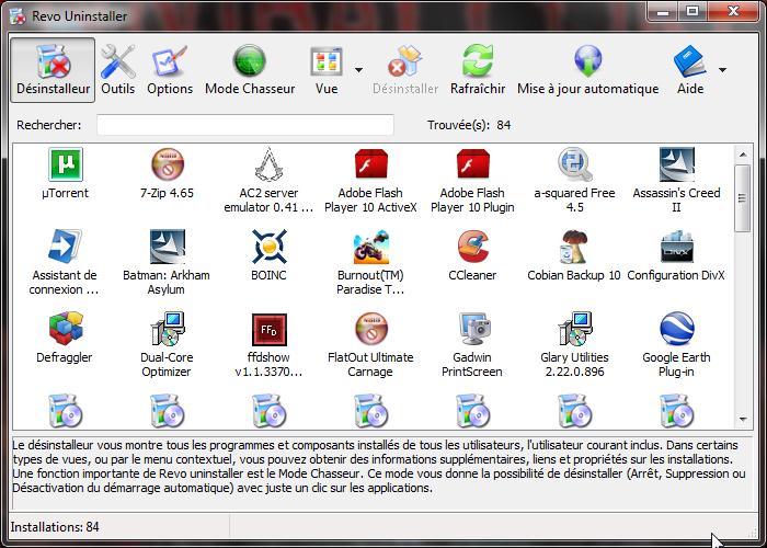 Comment d sinstaller vos logiciels proprement - Logiciel comme open office ...