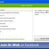 Dr web en ligne pcsansvirus com