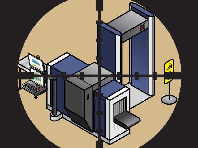est-ce possible de Pirater la sécurité des scanners à rayons X des aéroports ?