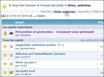 Proposé une nouvelle catégorie sur le Forum Pc Sans Virus