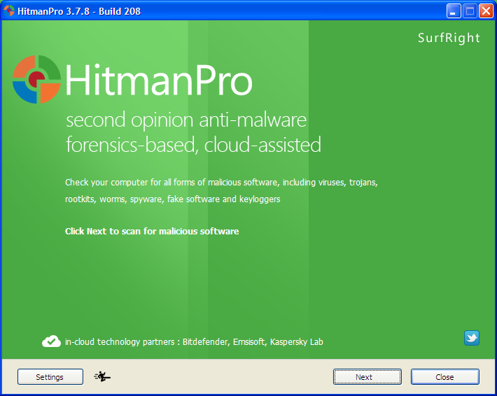 Hitman Pro est un logiciel qui détecte et détruit les publiciels, espions, virus et tous les autres logiciels malveillants en utilisant l'analyse comportementale