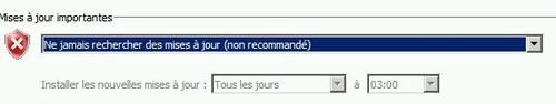 La procédure est légèrement différente pour accéder au dossier où sont stockés les mises à jour Windows sous Windows 7 et Vista