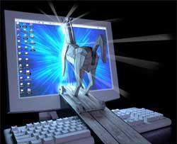 Cheval de Troie (en anglais trojan horse) un programme informatique effectuant des opérations malicieuses à l'insu de l'utilisateur