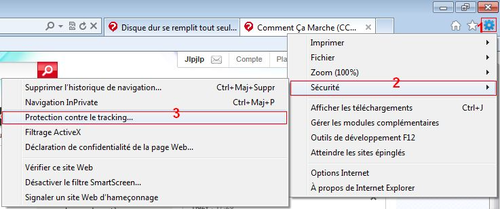 Protection contre le tracking