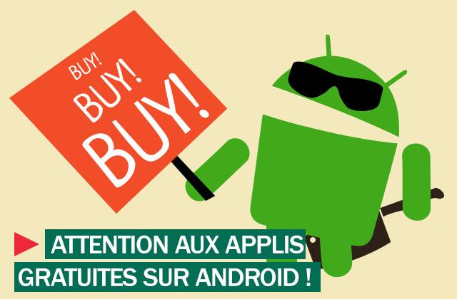 Quels sont les risques des applications Android gratuites que vous téléchargez