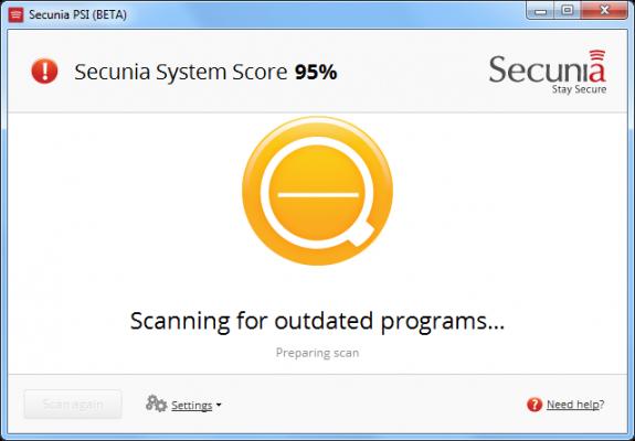 Scan de vos mise a jour systeme et logiciels