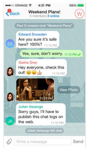 Telegram est certainement la messagerie la plus connue pour être sécurisée