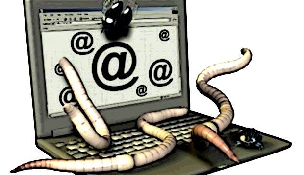 Un ver informatique (en anglais worm) est un programme qui peut s'auto-reproduire